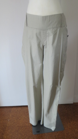 Summer maternity cotton pants