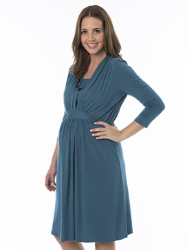 Glorious Feeding Maternity Dress