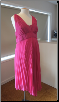 Pink Formal Maternity Dress