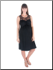 Black Glamour Feeding Dress