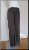 Brown zippy Maternity Dress Pants