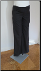 Black zippy Maternity Dress Pants