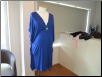 Colbalt Blue Maternity Dress