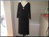 Black Monte Carlo Maternity Dress
