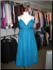 Blue Formal Sleeveless Gown