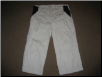 Cream 3/4 trousers