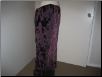 Purple Evening Skirt