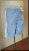 Blue maternity board shorts