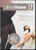 Black Sheerhose Maternity Hosiery