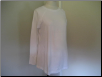 White Cotton Long Sleeve Top